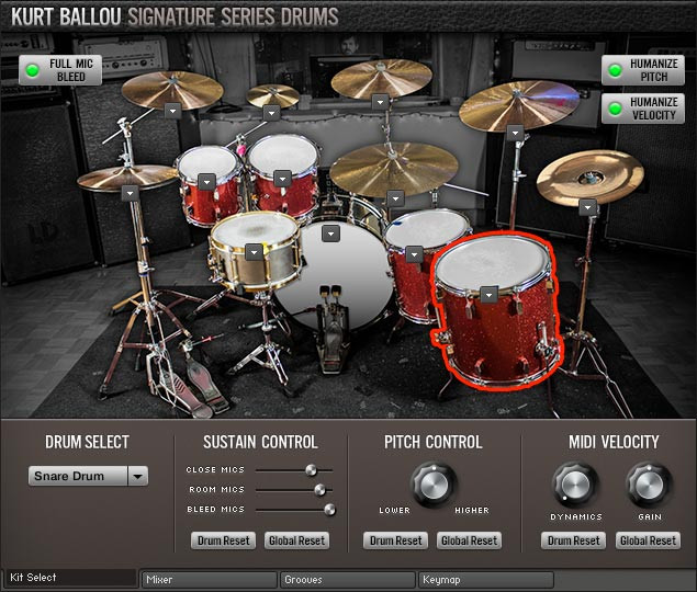 Room Sound - Kurt Ballou Signature Series Drums